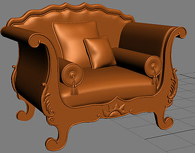 furniture leather 3D SOFA