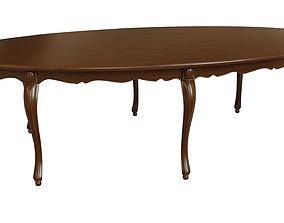 Classic wood table 2700 3D model