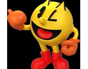 3D Pac-Man smash bros