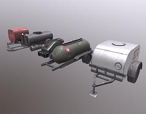 3D asset Nuclear Tank