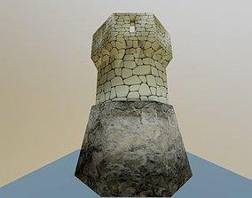 Medieval tower 3D asset realtime