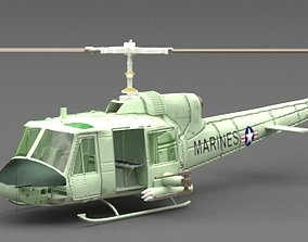Helicopter 3D service-helicopter