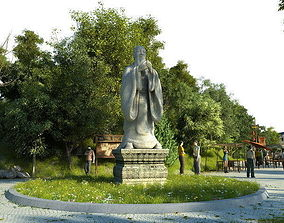 3D Ancient Chinese Gardens 33