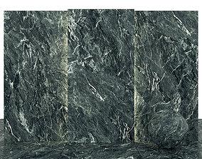 Alps dark green marble 3D asset