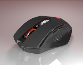electronics Computer mouse A4Tech bloody V7 3D model
