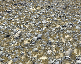 3D model Sand and Pebbles Seamless PBR