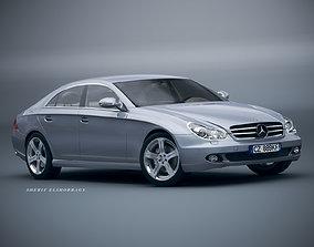 3D Mercedes Benz CLS500