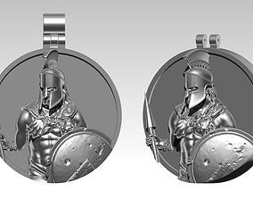 3D printable model Sparta Pendant Detailed Realistic 2