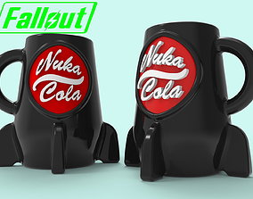 Nuka cola mug for 3D printing model
