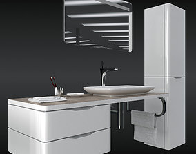 duravit puravida set 3D model