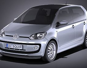 3D Vw UP 4door 2013 VRAY