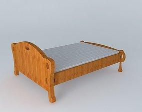 Hobbit Bed 3D model