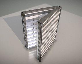 3D model City Building Design V-1