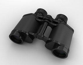 3D model Binoculars glasses