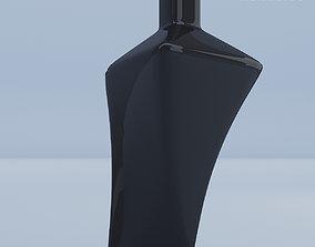 3D model Glass Vase Black High