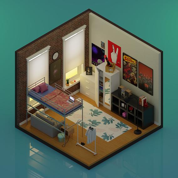 My Brooklyn room