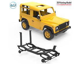 Land Rover Defender 3D print model