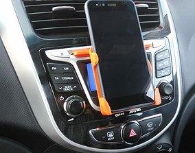 Phone holder Xiaomi Mi A1 in car 3D print model