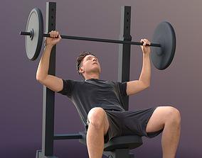 3D model Dan 10486 - Fitness Man