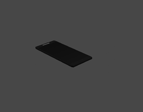 3D asset Low-Poly Mobile Phone