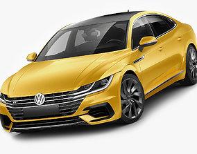 VW Arteon R-line 2018 3D