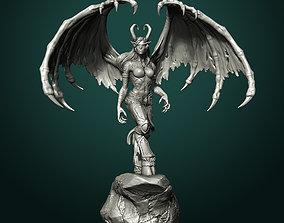 Demon Hunter World of Warcraft fanart 3D printable model