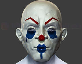 Joker Henchmen Dark Knight Clown Mask 3D printable model 1