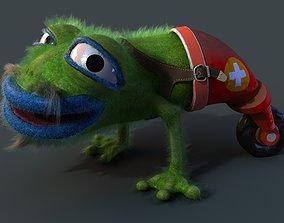 Strange frog 3D model