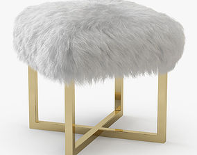 3D Nomo Sheepskin Bench