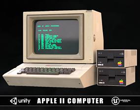 Apple 2 Computer 3D model