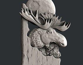 3d STL models for CNC elk
