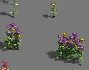 Plant - flowers 3D model