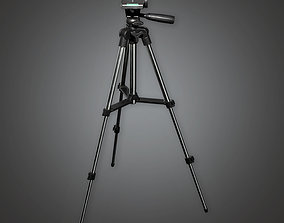 Tripod 01 - PBR Game Ready 3D model