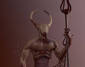 3D model Demon from Hell