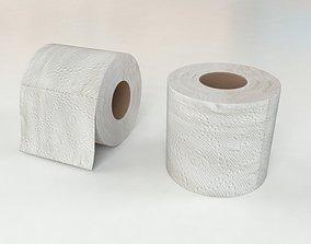 3D model realtime Toilet Paper