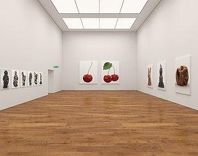 3D model contemporary art Art Gallery