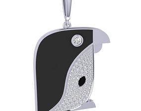 3D print model Penguin Charm