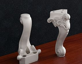 Furniture leg decor 3D printable model