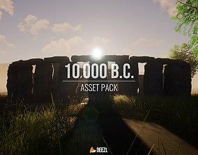 10000 BC - Asset Pack - Blender and FBX game-ready