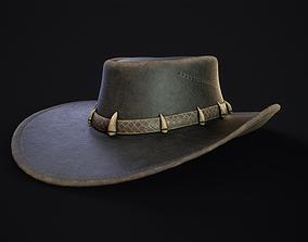 3D model Australian Outback Hat