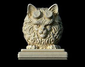 3D print model Hell cat