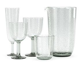 3D model Serax Pure Karaf glassware