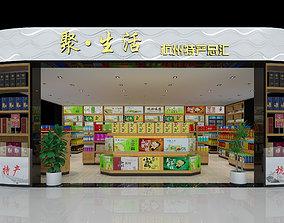 Supermarket store 3D