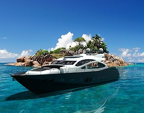 3D model Predator Luxury Yacht