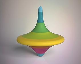 Spinning Top fun 3D model