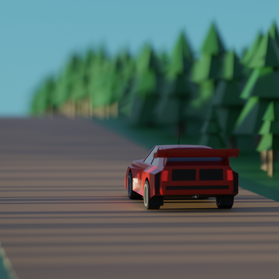 Low Poly Group B Audi Quattro