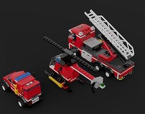 3D LEGO City - Fire Station 2013