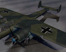 bomber Dornier Do-17Z-2 3D model