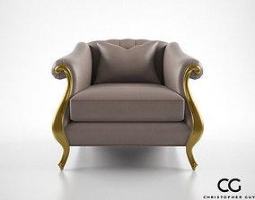 Christopher Guy Babette Club Chair 3D