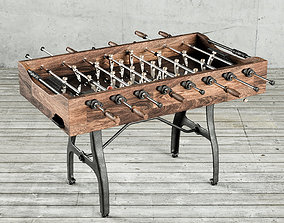 Restoration Hardware Foosball Table 3D